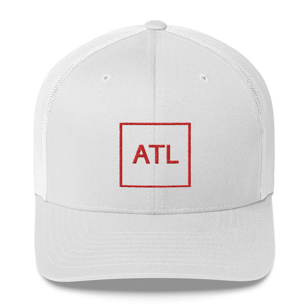 ATL Trucker Cap - Red