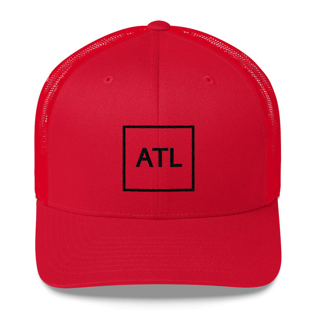 Black ATL Trucker Cap