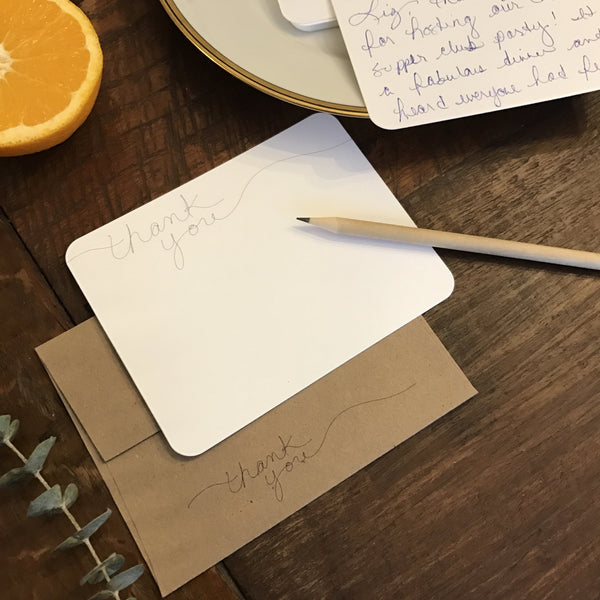Modern Personal Stationery and Thank You Notes