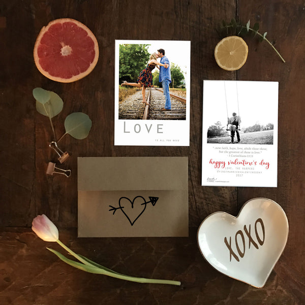 Valentine's Day Photo Cards & Personalized Valentines
