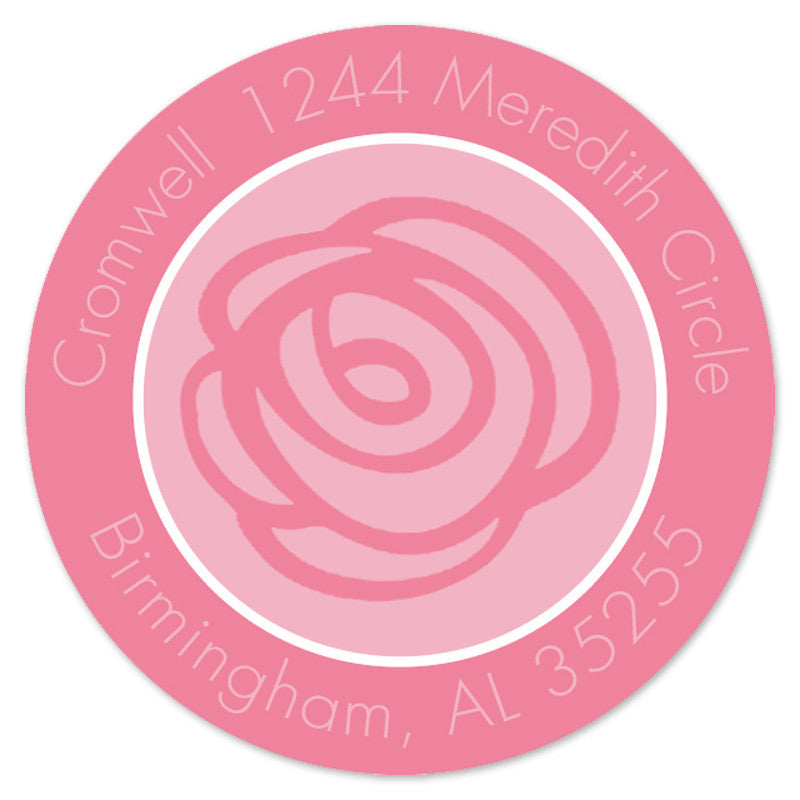 Rose Label (Set of 20)