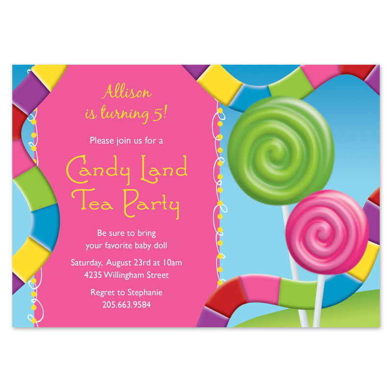 Candyland Tea Party