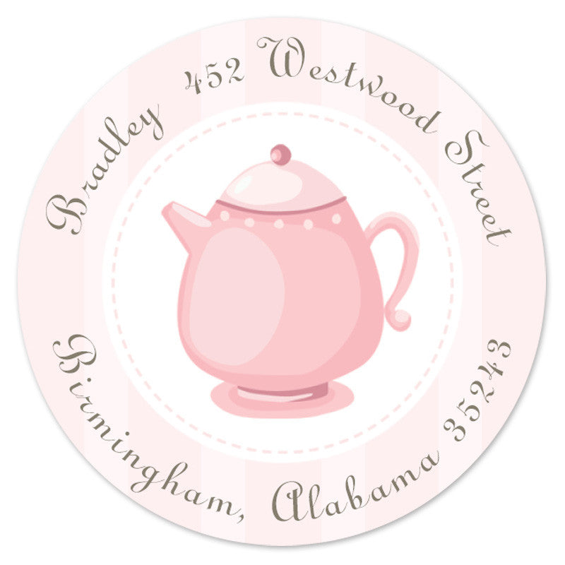 Tea Party Label (set of 20)