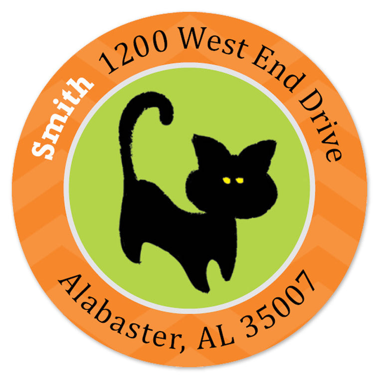 Black Cat Label (Set of 20)