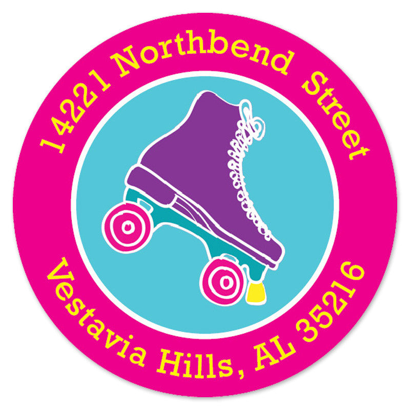 Roller Skate Label (Set of 20)