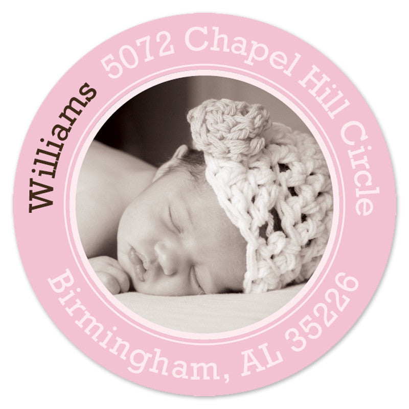 Baby Photo Label (Set of 20)