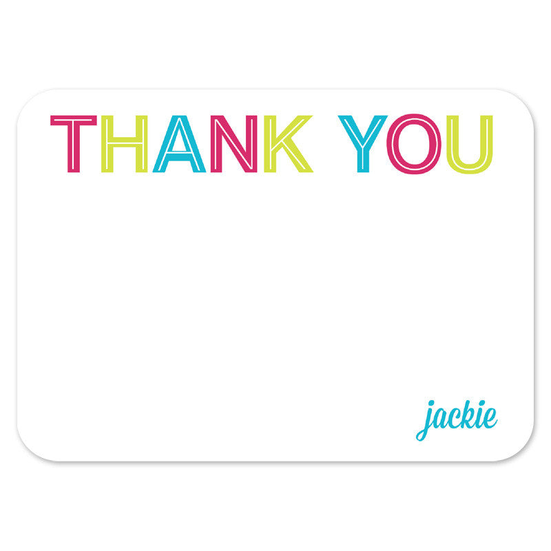 custom thank you cards with photo