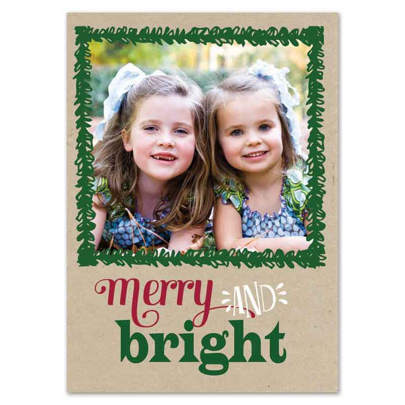 rustic be merry & bright