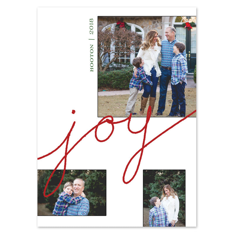Hand Drawn Joy Multiple Photo