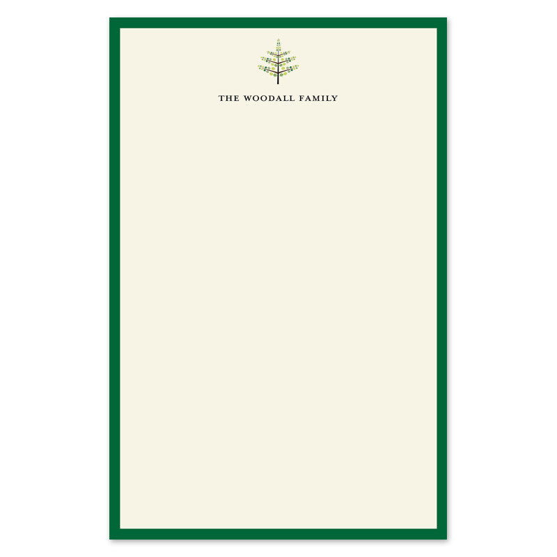 Green Tree Notepad