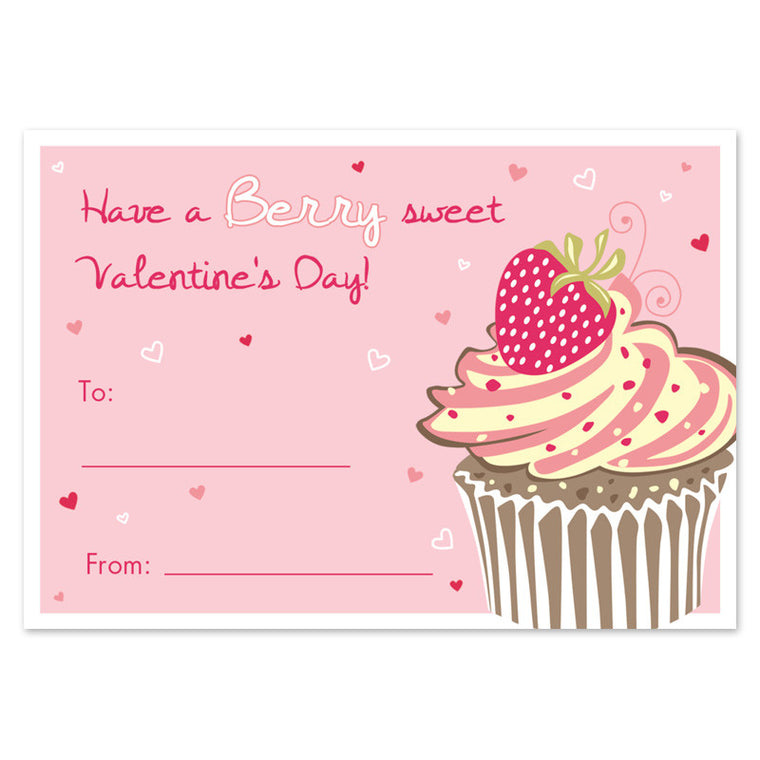 front of classroom valentine card