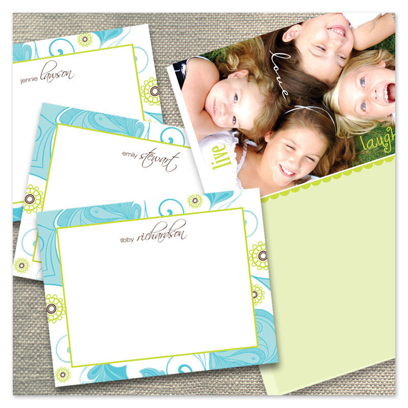 Gift Set of notecards and notepad