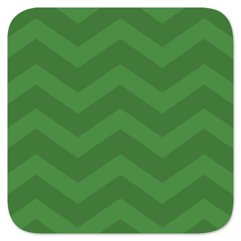 Chevron coaster backer