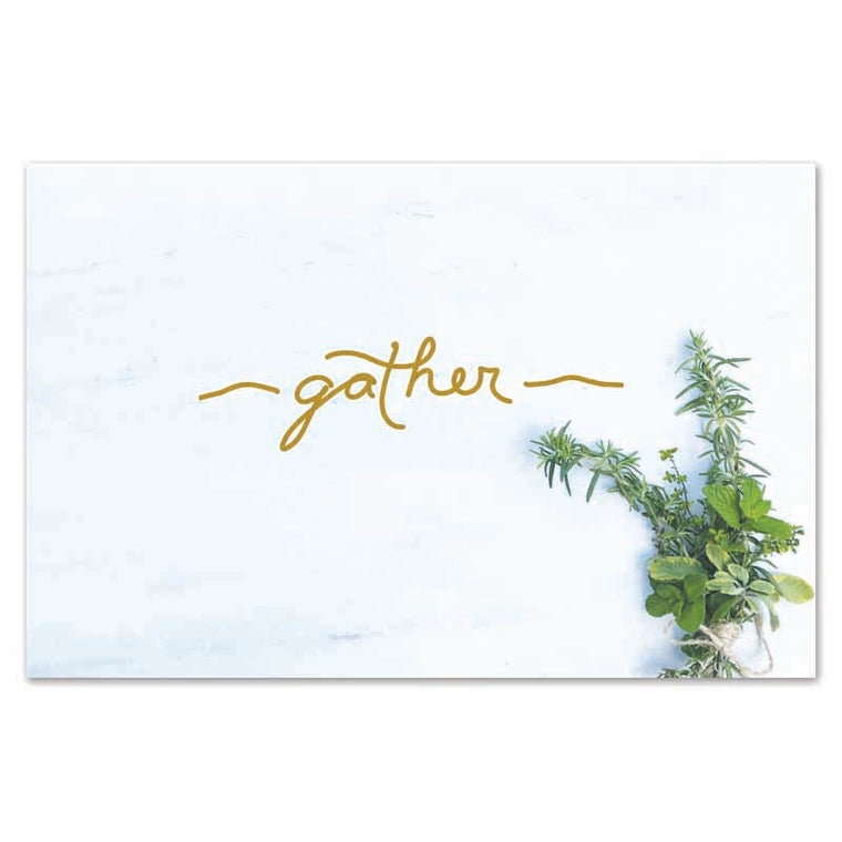 Gather Herb Placemats (Set of 24)