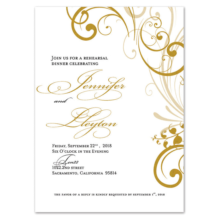 rehearsal dinner invitations freshdirtdesigns