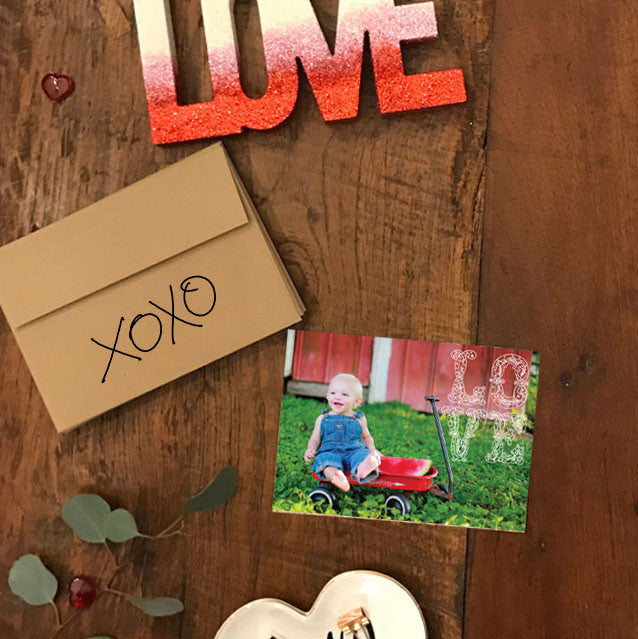 Valentine's day photo cards
