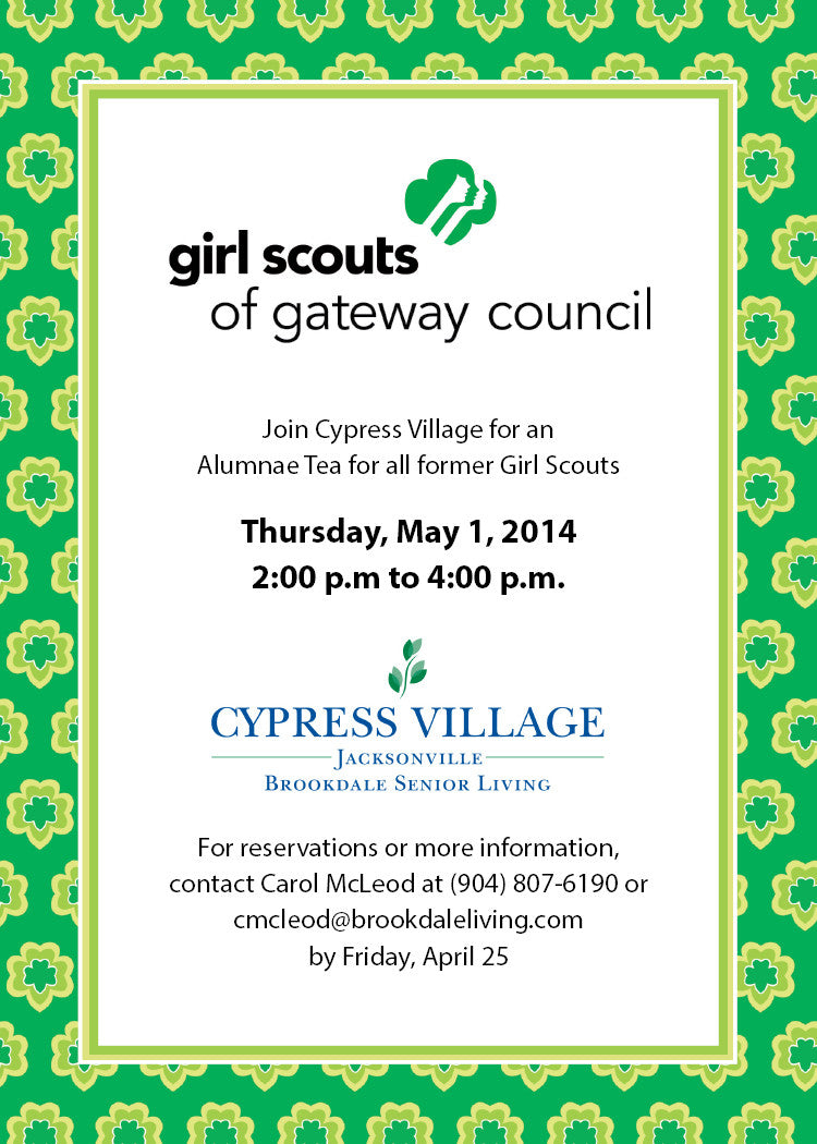 girl scout luncheon