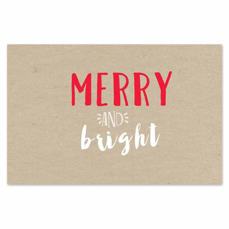 Merry and Bright Paper Placemats