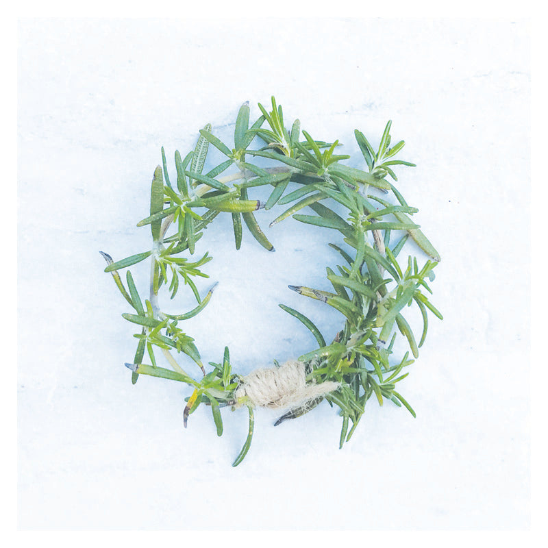 Rosemary Wreath Coasters (Set of 24)