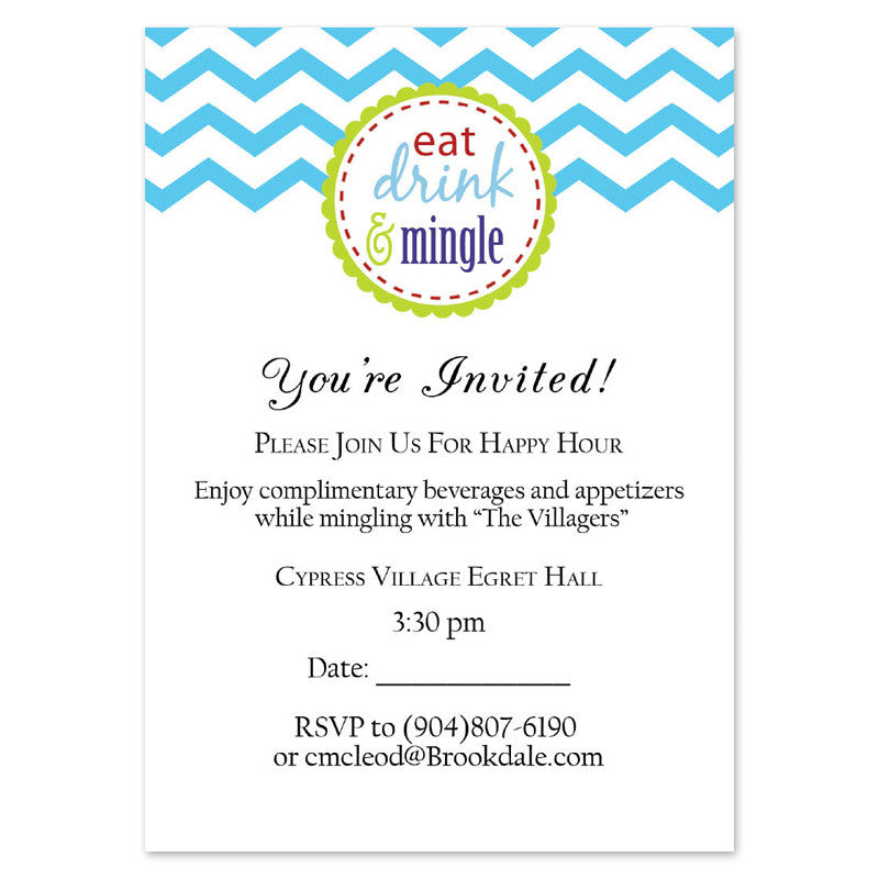 Happy Hour Invitations