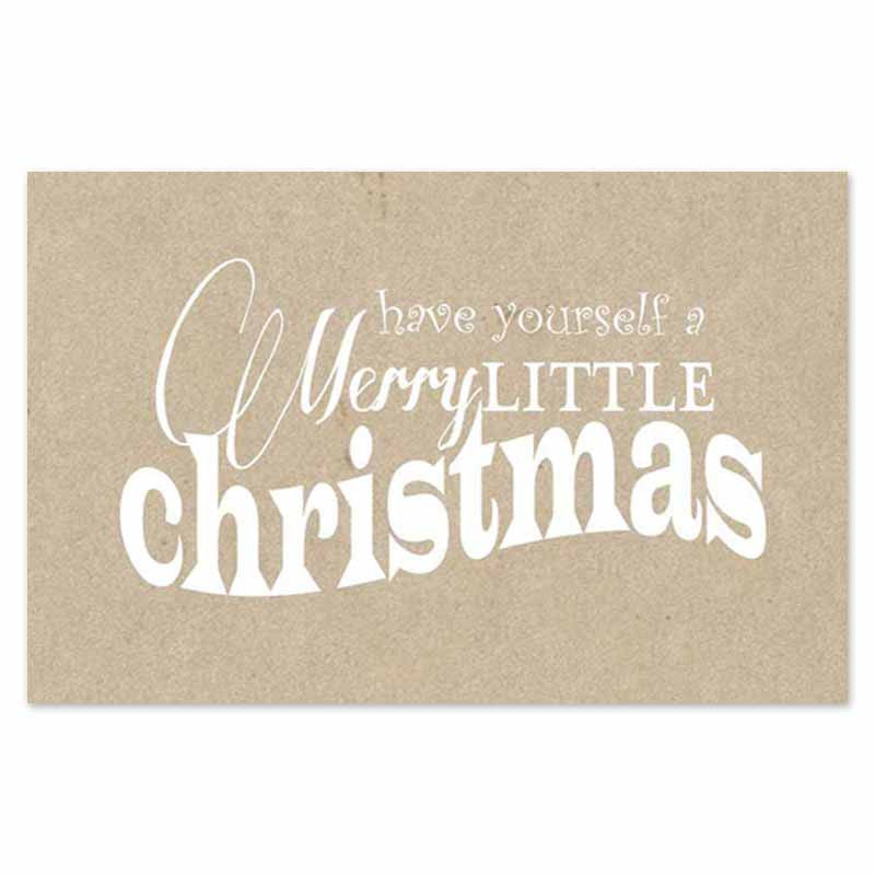Merry Little Christmas Placemats