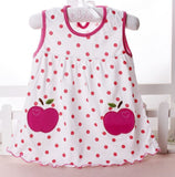 Summer Multicolor Infant and Toddler Dresses 0-24month