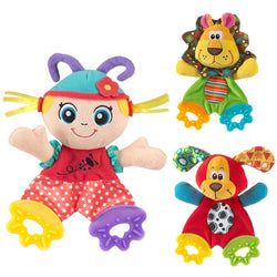 Infant Cute Plush Stuffed Animal Teether Toy