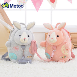 Me Too Baby Cartoon Plush Backpack Anti-lost Shoulder Bags for 1-3 Years