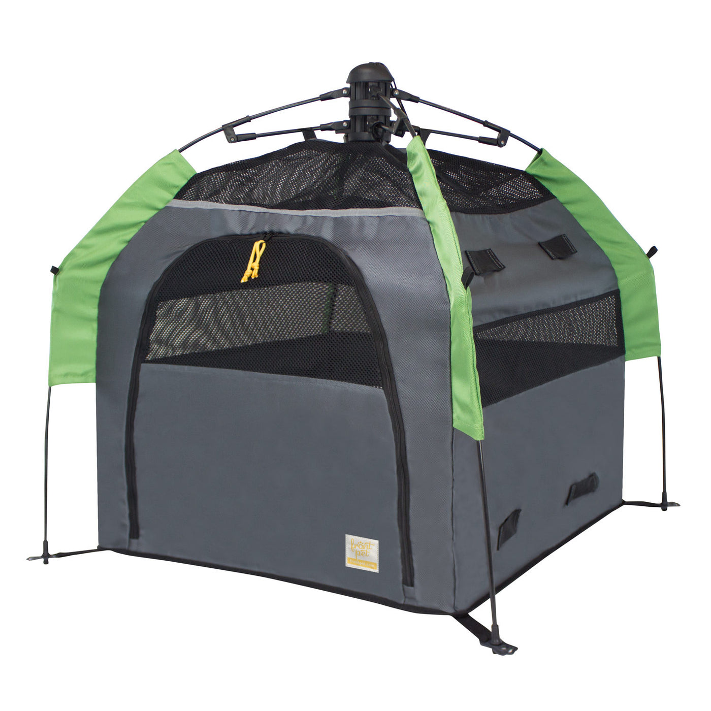 Angled view of dog tent without rainfly (large) ...  sc 1 st  Frontpet.com & Dog Tent | Pop Up Dog Tent For Outdoors and Travel u2013 Frontpet.com
