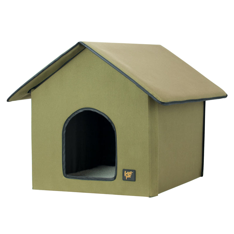 FrontPet Indoor/Outdoor Heated Cat House