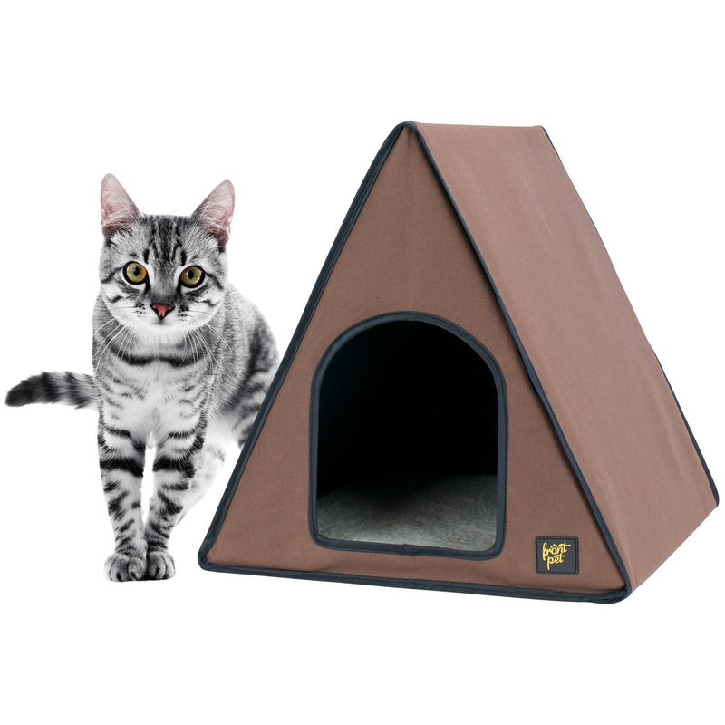 A-Frame Heated Cat House For Outdoor u0026 Indoor Cats  sc 1 st  Frontpet.com & Cat Products u2013 Frontpet.com