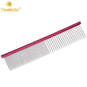 TAONMEISU Stainless Steel Lightweight Combs - Dog E Paws