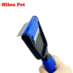 HILOU PET Multi-purpose Dog Comb - Dog E Paws