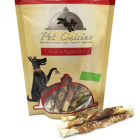 DOG E Pet Cuisine Pigskin & Duck Meat Dental Stix