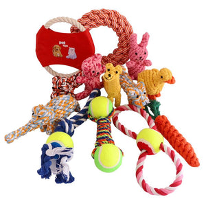 PETCIRCLE durable Interactive Chew Knot Toys