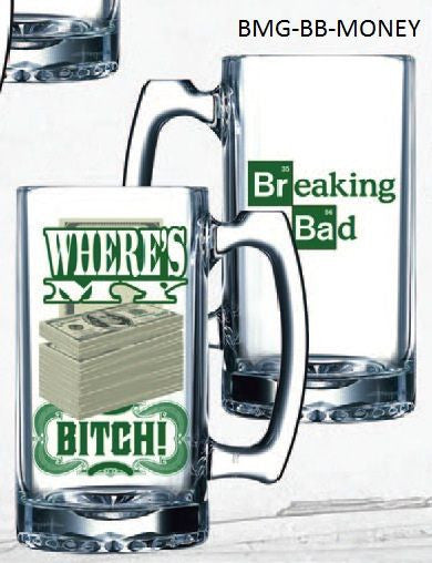 Breaking Bad Beer Mug - Money