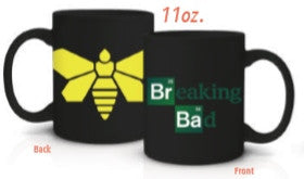 BB YELLOW MOTH COFFEE MUG