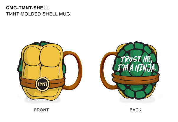 TMNT 32oz  MOLDED SHELL MUG