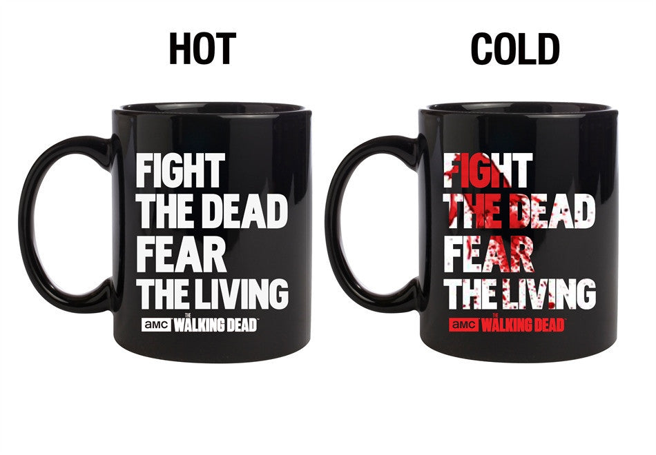 WD Fight The Dead Heat Change Coffee Mug