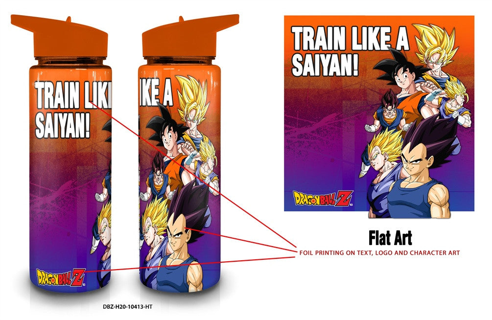 DRAGON BALL Z WATER BOTTLE