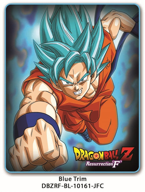 DBZ RESURRECTION FLEECE BLANKET