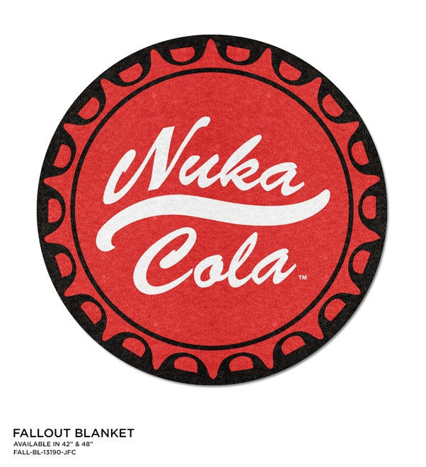 Fallout Nuka Cola Round Blanket - 48