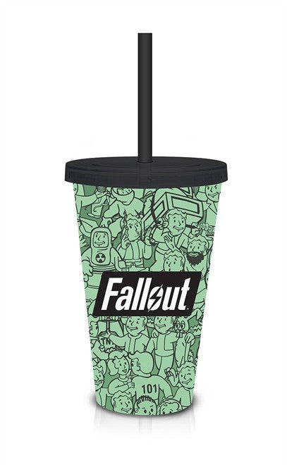 FALLOUT GREEN COLLAGE CARNIVAL CUP