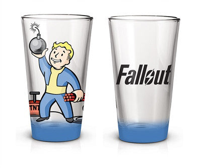 FALLOUT PINT GLASS
