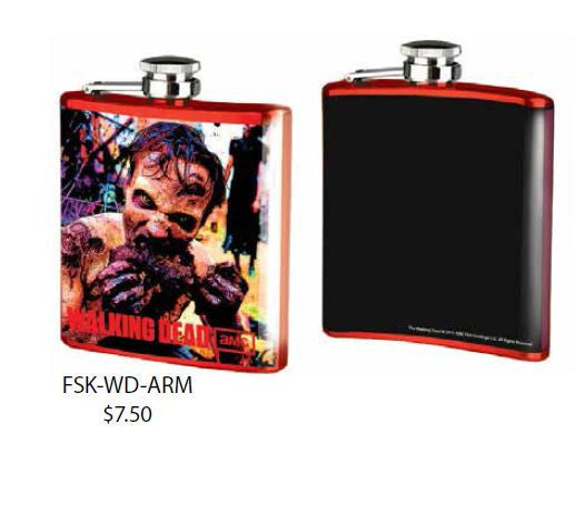 WD zombie arm flask