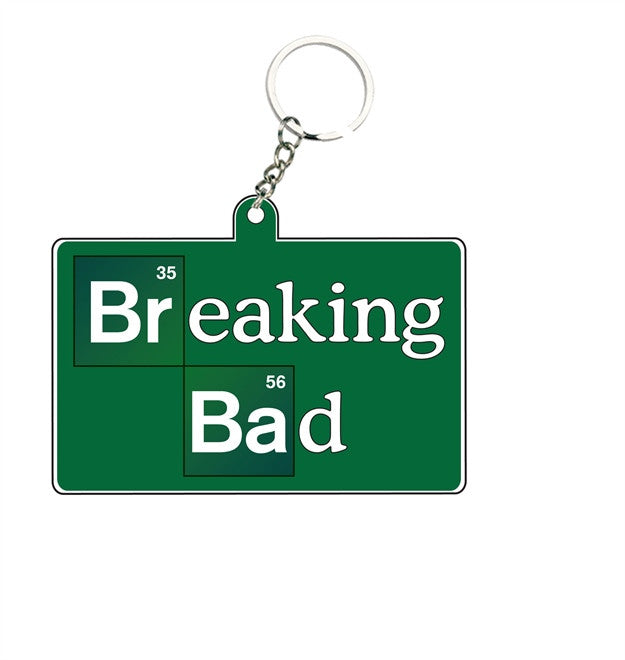 BREAKING BAD LOGO KEY CHAIN