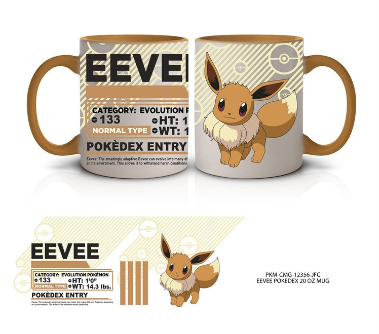 POKEMON Ceramic Coffee Mug- 20 oz