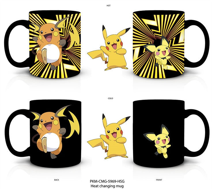 Heat change evolution pikachu  20 oz