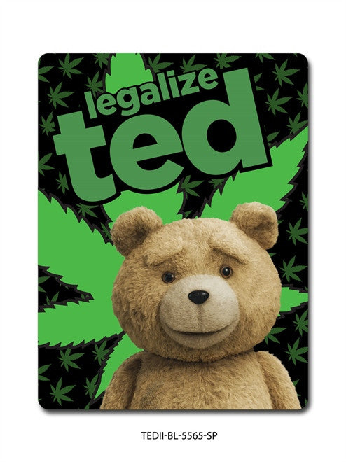 TED 2 LEGALIZE TED BLANKET
