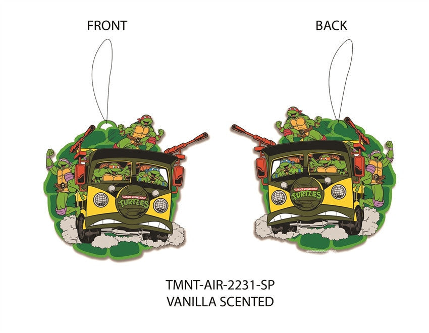 TMNT GROUP VAN AIR FRESHENER